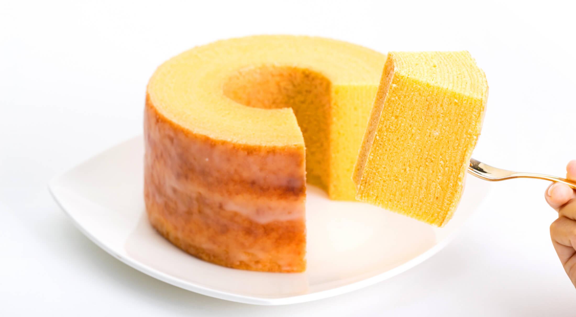 ケーキのようなふんわり感